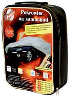 Тент автомобильный под зеркало в компл. (сумка+замок) XL-533х178х119 (полиэстер серый) (пр-во MILEX) 102026