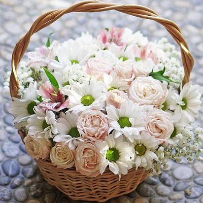 Корзины цветочные
