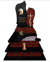 Пам'ятник надгробний гранітний одинарний Елітний S306