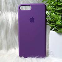 Силиконовый чехол Apple Original Silicone case iPhone 7 Plus / 8 Plus Violet (фиолетовый)