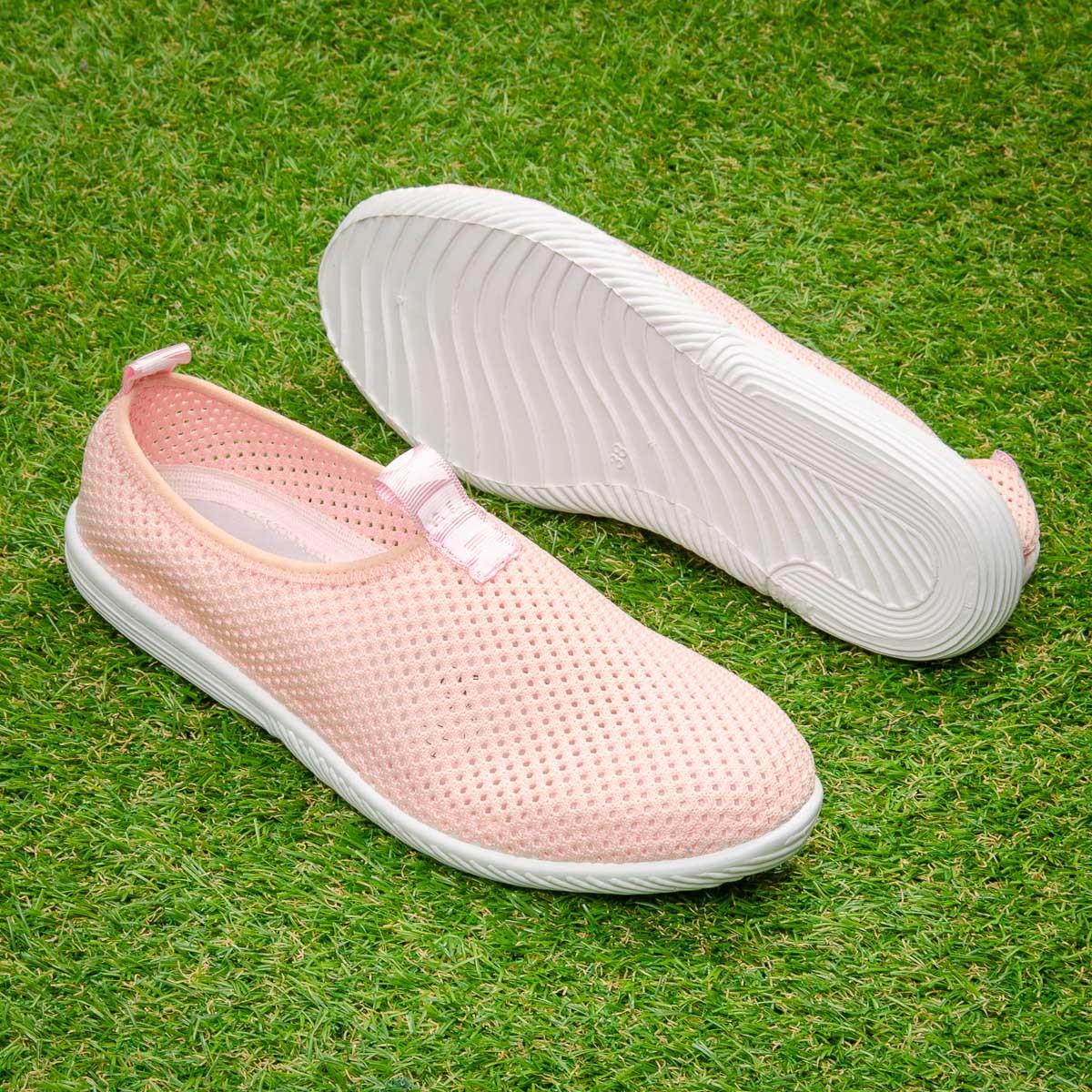 Кросівки Tellus 72-21PI сітка рожеві