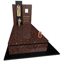 Пам'ятник гранітний з ангелом Елітний S9076
