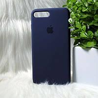 Силіконовий чохол Apple Original Silicone case iPhone 7 Plus /8 Plus Blue (синій)