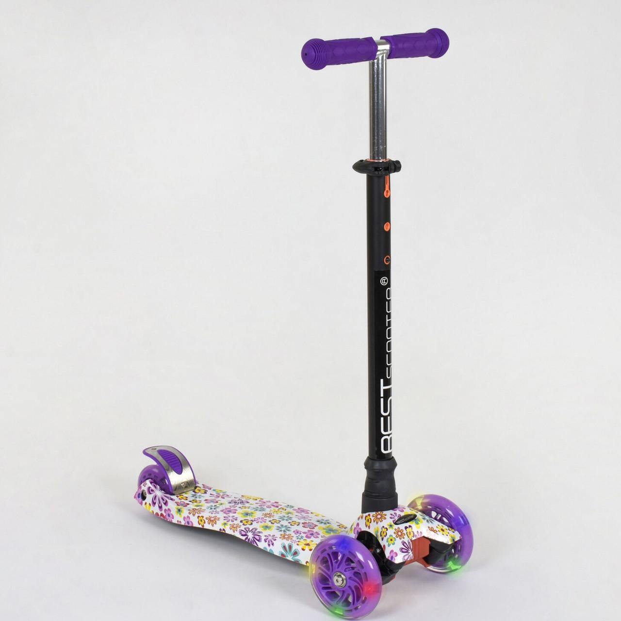 Самокат Best scooter MAXI граффити 1326