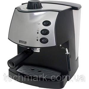 Рожковая кофеварка эспрессо Mystery MCB-5110 с капучинатором.
