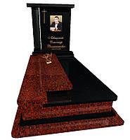 Пам'ятник гранітний на одного Елітний S9081