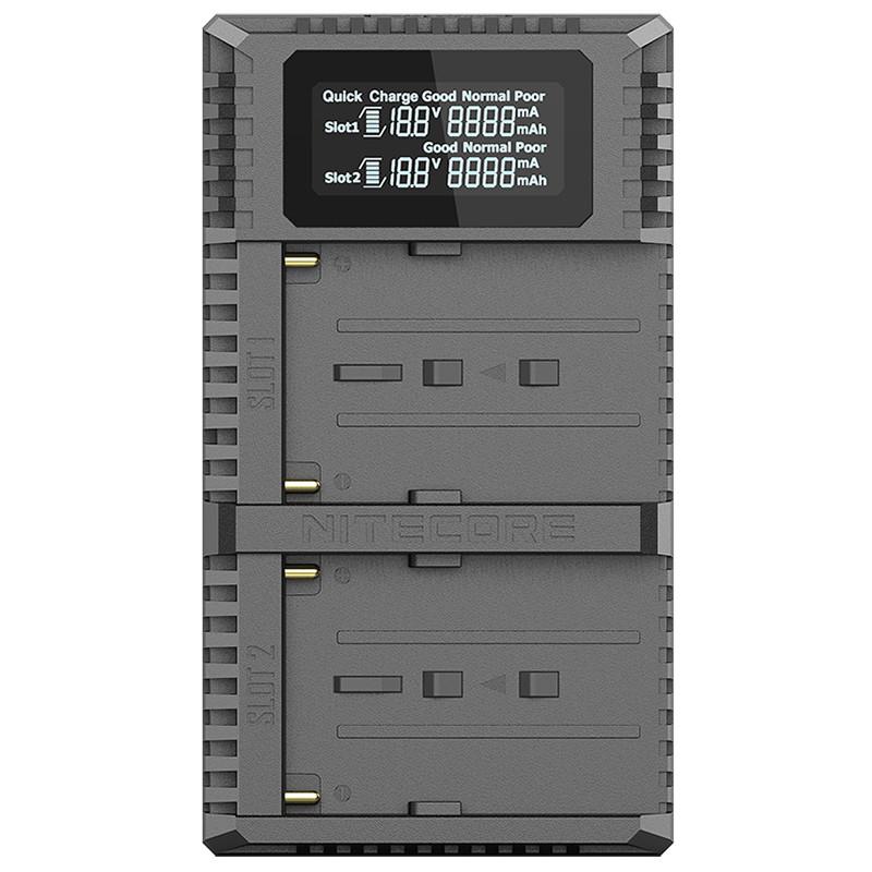 Зарядное устройство Nitecore USN3 PRO для аккумуляторов Sony