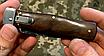 Нож выкидной Клинок - сталь 440С не ржавеет, устойчивый рез. Рукоять-палисандр. Механизм выброса - Lever Lock., фото 4