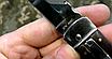 Нож выкидной Клинок - сталь 440С не ржавеет, устойчивый рез. Рукоять-палисандр. Механизм выброса - Lever Lock., фото 5
