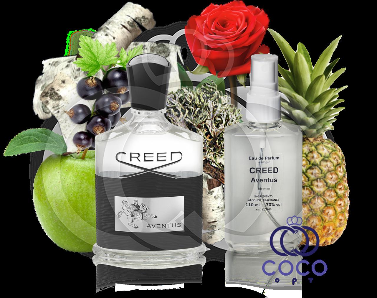 Чоловіча парфумована вода Creed Aventus 110 Ml ОАЕ в пластиковій пляшці
