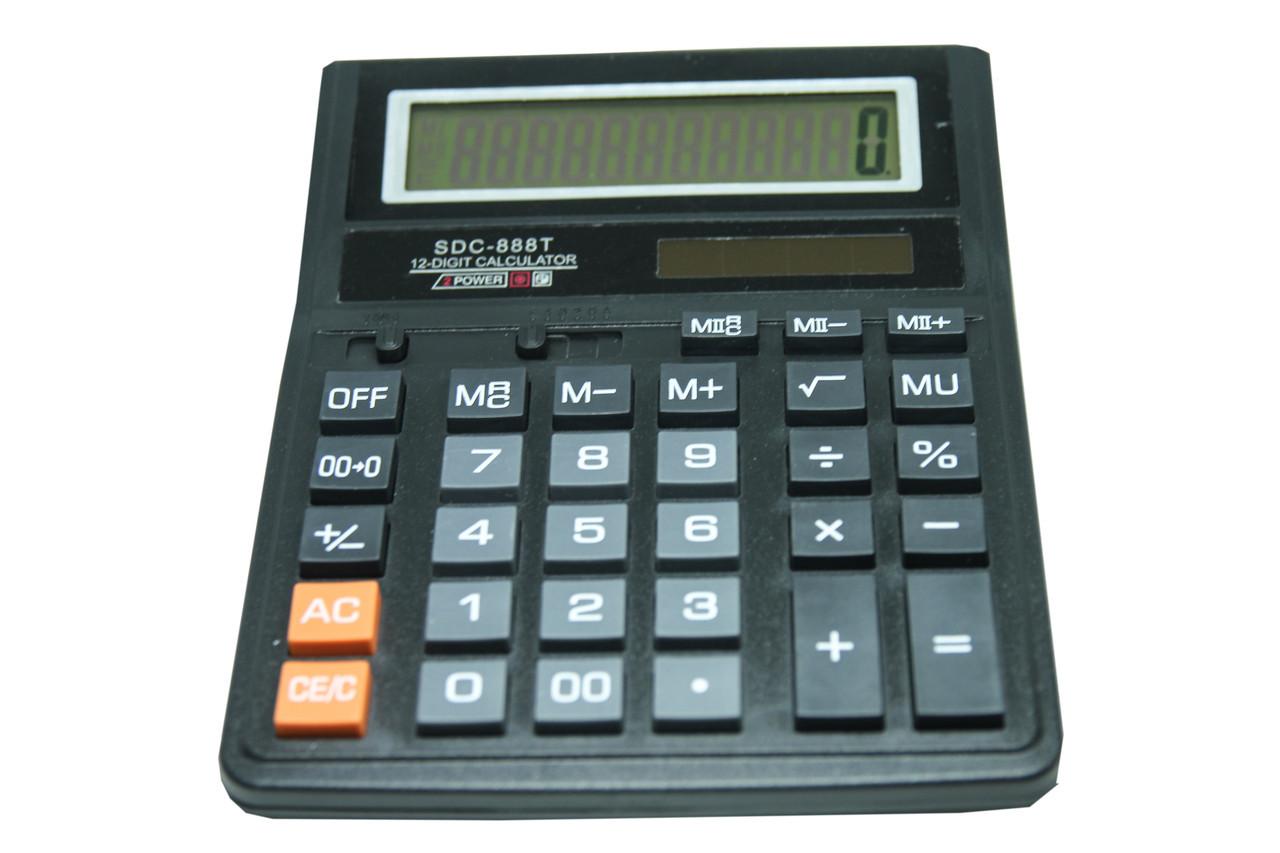 Калькулятор настольный большой  888T опт
