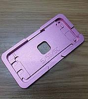 Форма металлическая для iPhone 5 для отцентровки комплекта стекла с рамкой