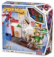 Конструктор Человек-паук и доктор Осьминог, 57 деталей, Marvel, Mega Bloks, 57pcs SKL14-138327
