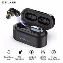 Беспроводные Bluetooth Наушники Syllable S101 Black