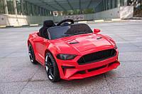 Детский легковой электромобиль Tilly Ford Mustang с пультом дистанционного управления (красный цвет)
