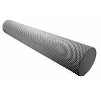 Массажный ролик Power System для фитнеса и аэробики Fitness Roller PS-4075 Grey, 90х15 SKL24-145137
