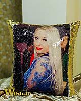 Подушка с фото антистресс
