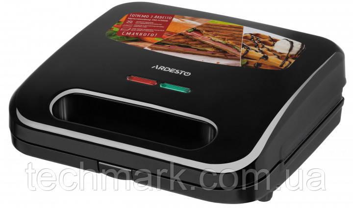 Мультимейкер 3 в 1 ARDESTO SM-H300B  сендвич/гриль/вафли.