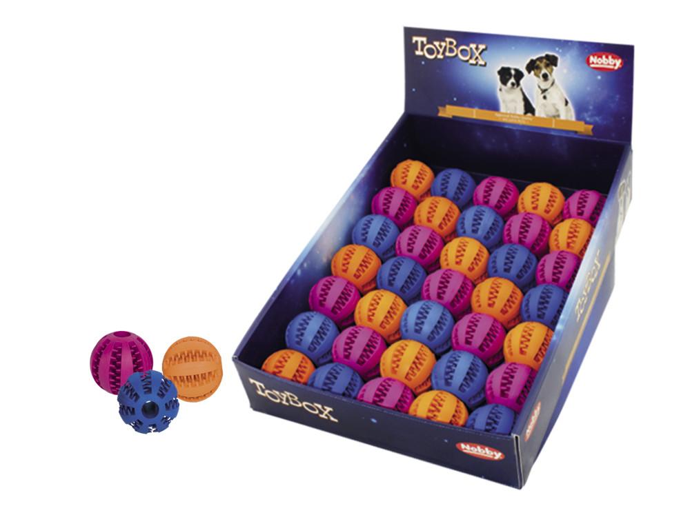 Игрушка для собак мяч ДЕНТАЛ FUN  Нобби