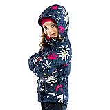 Демисезонная куртка-ветровка для девочки Nano S17J256 Flower. Размеры 12 мес - 10 лет., фото 2