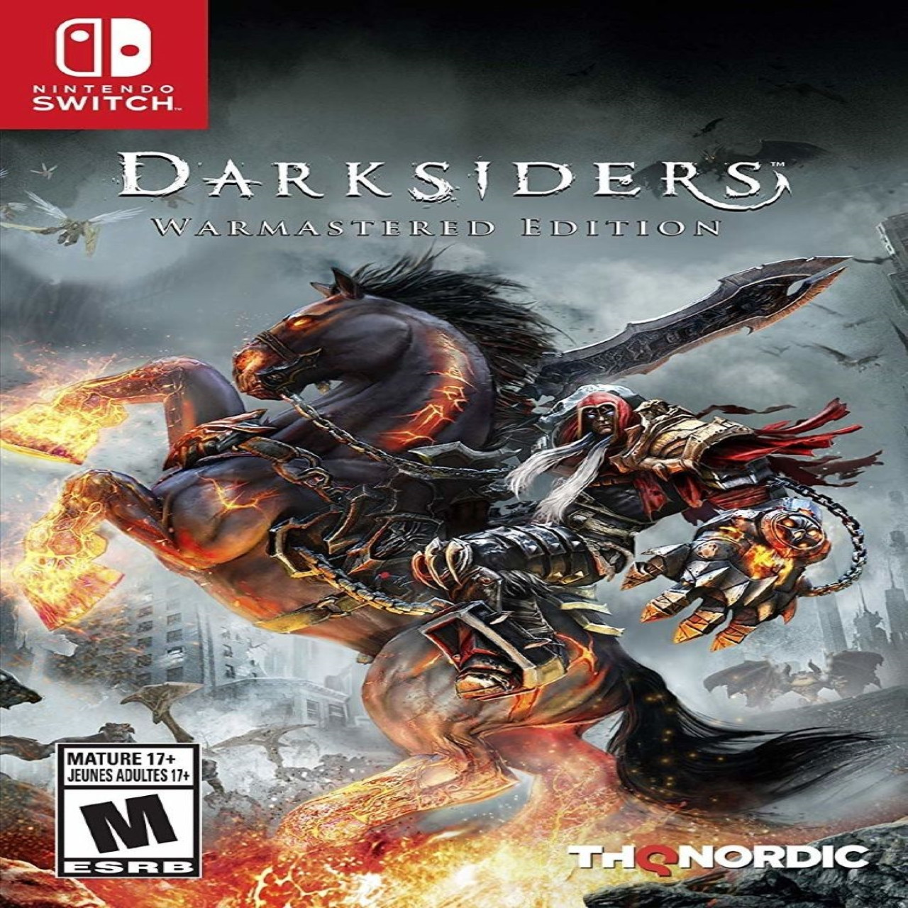 Darksiders: Warmastered Edition RUS Nintendo Switch