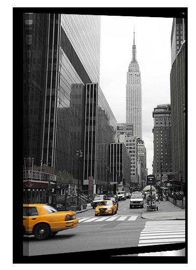 Картина Нью-йорк на холсте  114