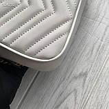 Сумка, клатч Гучи Marmont, натуральна шкіра, фото 3