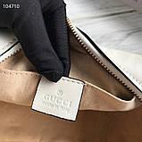 Сумка, клатч Гучи Marmont, натуральна шкіра, фото 5