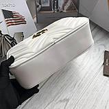 Сумка, клатч Гучи Marmont, натуральна шкіра, фото 6