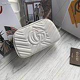 Сумка, клатч Гучи Marmont, натуральна шкіра, фото 8
