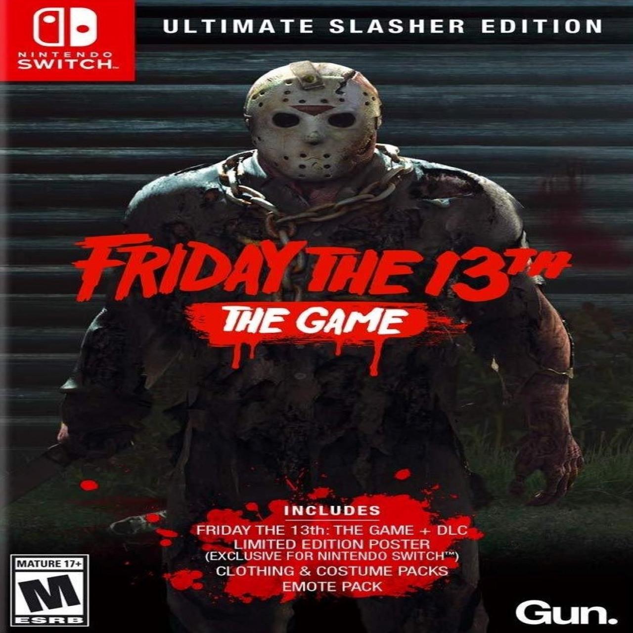 Friday the 13th: The Game Ultimate Slasher Edition (російські субтитри) Nintendo Switch
