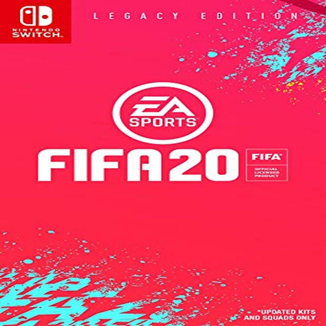 FIFA 20 (російська версія) Nintendo Switch