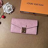 Жіночий гаманець, клатч Луї Вітон, шкіряний, фото 2