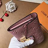 Жіночий гаманець, клатч Луї Вітон, шкіряний, фото 3