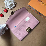 Жіночий гаманець, клатч Луї Вітон, шкіряний, фото 5