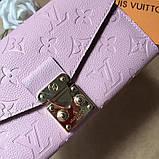 Жіночий гаманець, клатч Луї Вітон, шкіряний, фото 7
