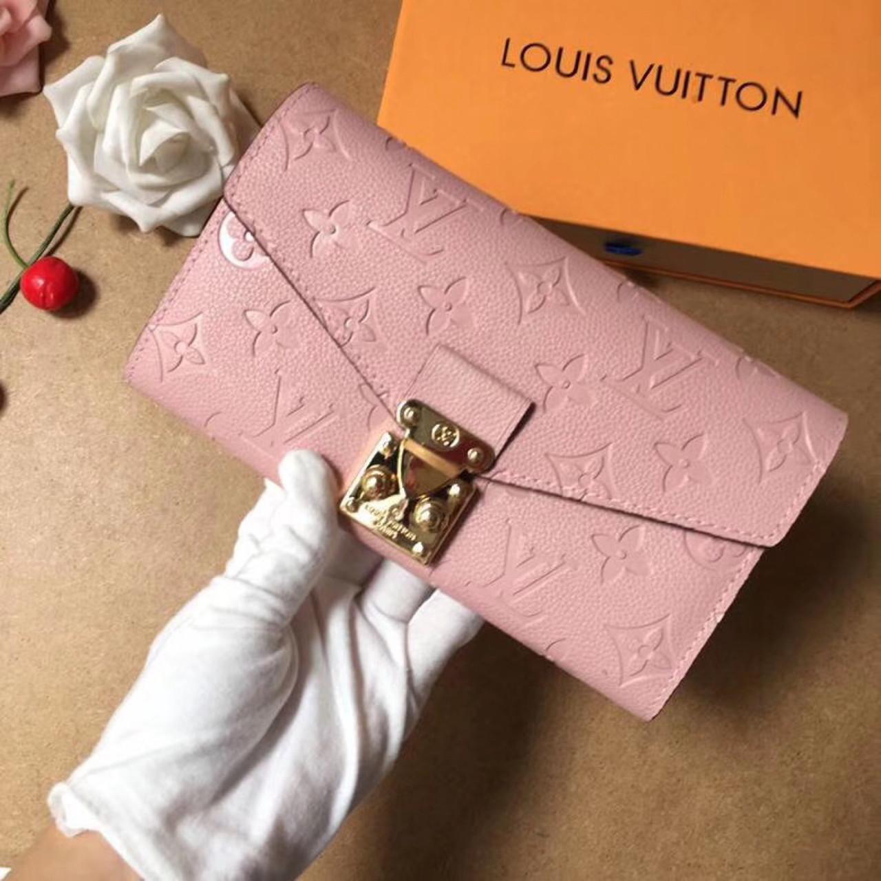 Жіночий гаманець, клатч Луї Вітон, шкіряний