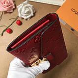 Женский кошелёк, клатч Луи Витон, кожаный, фото 3