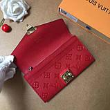 Женский кошелёк, клатч Луи Витон, кожаный, фото 6