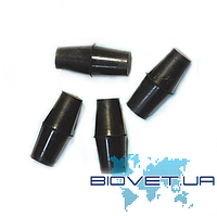 Пробка резиновая для бутирометров (жиромеров) двухконусная
