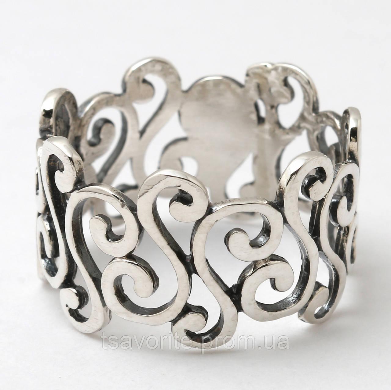 Серебряное кольцо 78КЮ