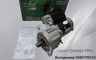 Стартер редукторний Jubana 12Вт - 2.8квт. на ТАТА;Еталон;I-VAN