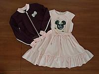 Нарядный костюм двойка  на девочку  платье +реглан   122р/146р Супер качество!