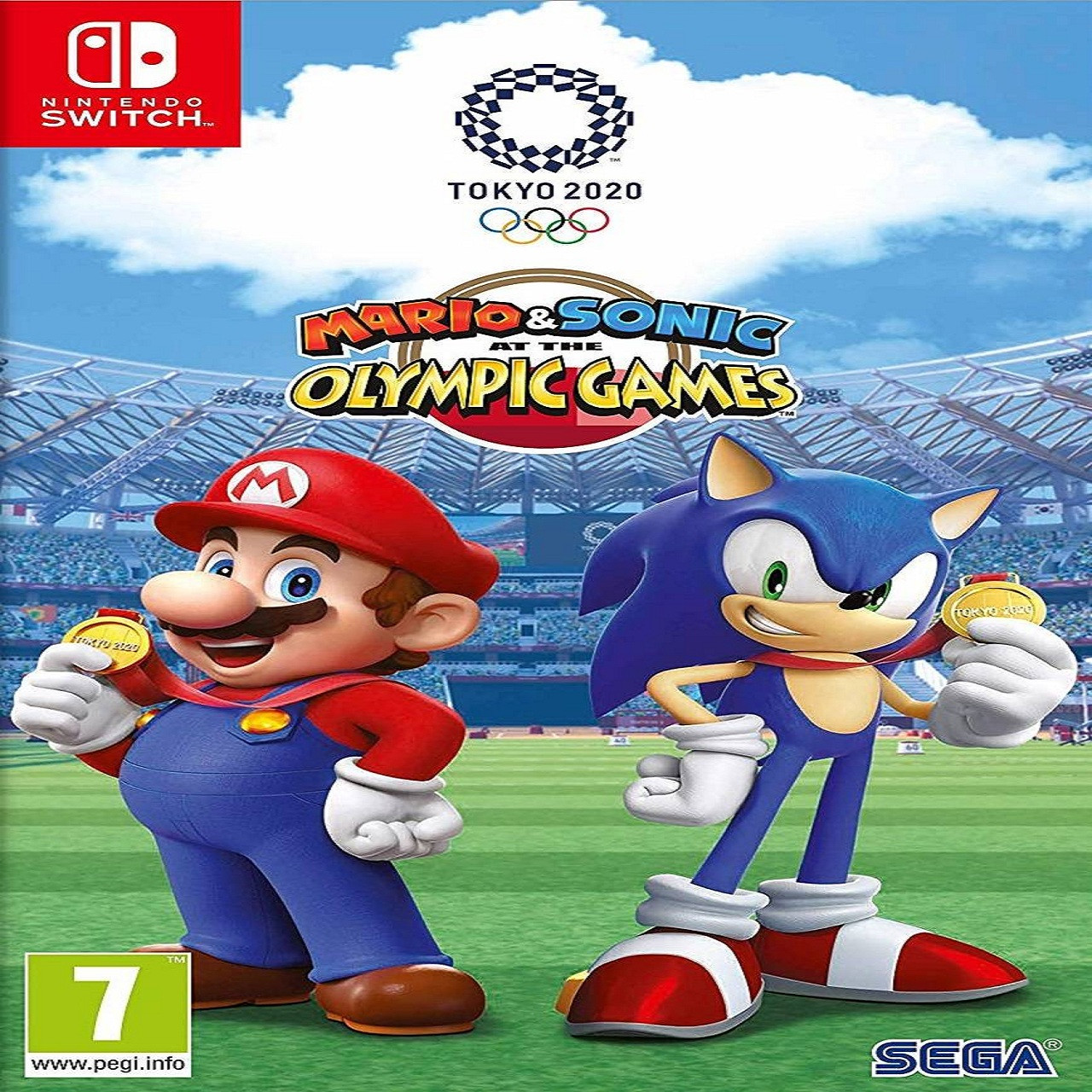 Mario & Sonic at the Olympic Games Tokyo 2020 SUB Nintendo Switch