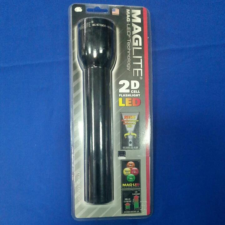 Фонарик MagLite LED блист черн  на 2R20