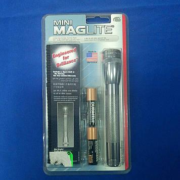 Ліхтарик MagLite +поясн.чохол+2R6 сірий