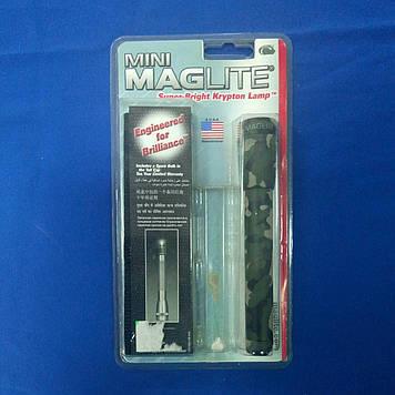 Ліхтарик MagLite +поясн.чохол+2R6 камуфл