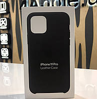 Чехол для iPhone 11 - Apple Pro Leather Case Black (MWYE2ZM/A) ОРИГИНАЛ