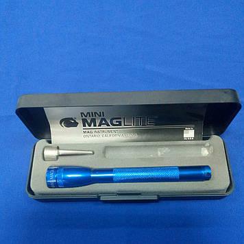 Ліхтарик MagLite 2AAA подар+2R03 блакитний