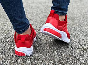 Кроссовки женские подростковые красные Nike Presto реплика, фото 3